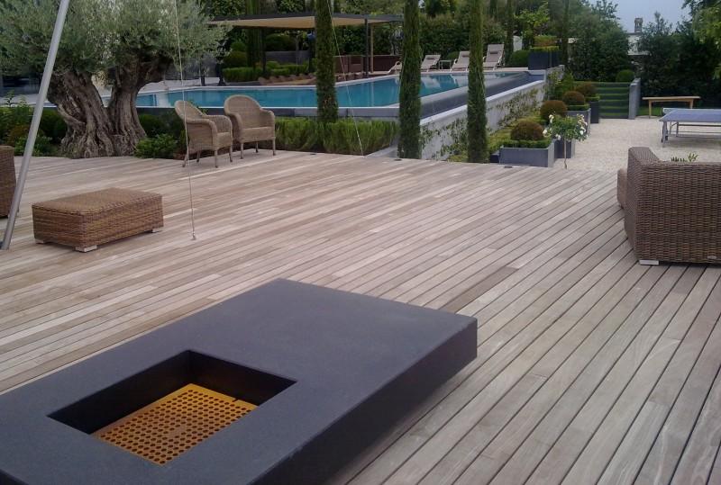 Terrasses extérieures, Passerelles, Aménagement Etang ou Piscine ...